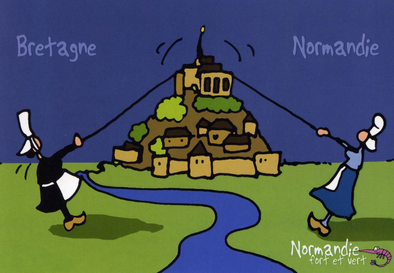 Vretagne vs normandie